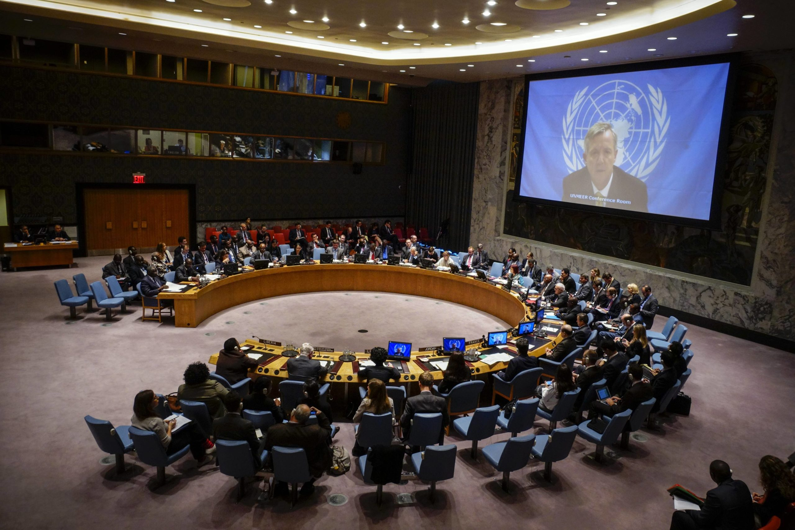 The US refused to discuss its sanctions in the UN security Council on the initiative of Russia